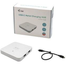 I-tec hub 4x usb 3.0 + power delivery 60w usb-c metal charging