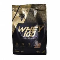 Odżywki białkowe, TREC WHEY 100 2270g 100% BIAŁKO WPC czekolada seza