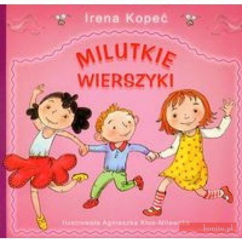 Książki dla dzieci, Milutkie wierszyki (opr. broszurowa)