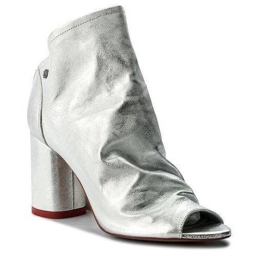 Sandały damskie, Sandały BADURA - 7791-69 Srebrny 433