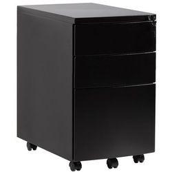 Kontener biurowy RPH-01-B czarny Unique