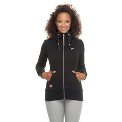 bluza RAGWEAR - Neska Zip Black (BLACK) rozmiar: S
