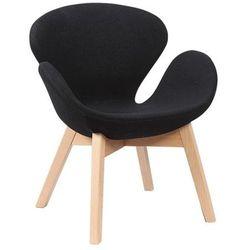 Fotel Aarhus czarny
