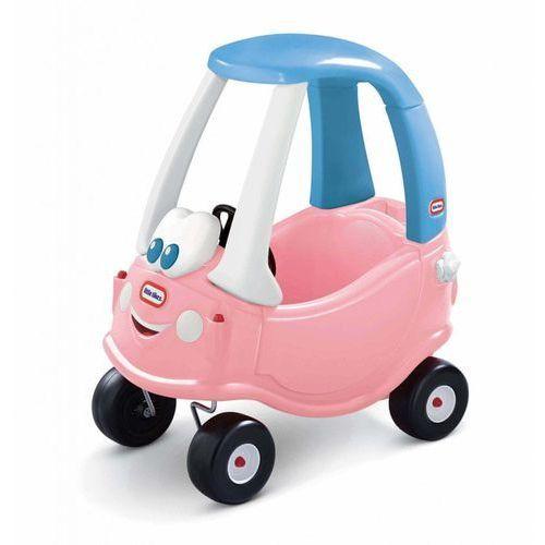 Pozostałe samochody i pojazdy dla dzieci, Little Tikes Pojazd do odpychania Cozy Coupe rózowo niebieski