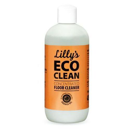 Płyny do czyszczenia podłóg, Skoncentrowany Płyn do Mycia Podłóg z olejkiem pomarańczowym, Lilys Eco Clean
