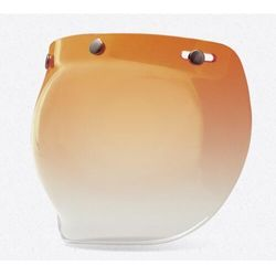 BELL CUSTOM 500 BUBBLE AMBER GRADIENT Szyba