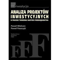 Analiza projektów inwestycyjnych w procesie tworzenia wartości przedsiębiorstwa (opr. miękka)