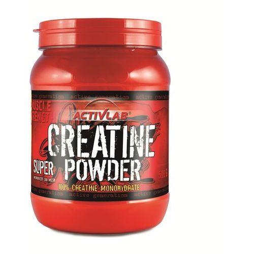 Kreatyny, ActivLab Kreatyna w proszku Creatine Powder Super 500 g