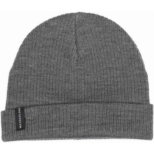Nakrycia głowy i czapki, czapka zimowa CLWR - Rib Beanie Grey Melange (801)