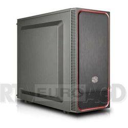 Cooler Master MasterBox E500L (czerwony)