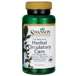 Swanson Full Spectrum Herbal Circulatory Care (Ziołowe wsparcie układu krążenia) 60 kaps.
