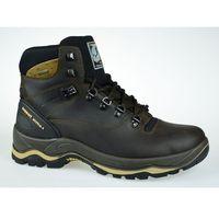 Męskie obuwie sportowe, MĘSKIE BUTY GRISPORT MARRONE DAKAR TREKKING 11205D15G 43
