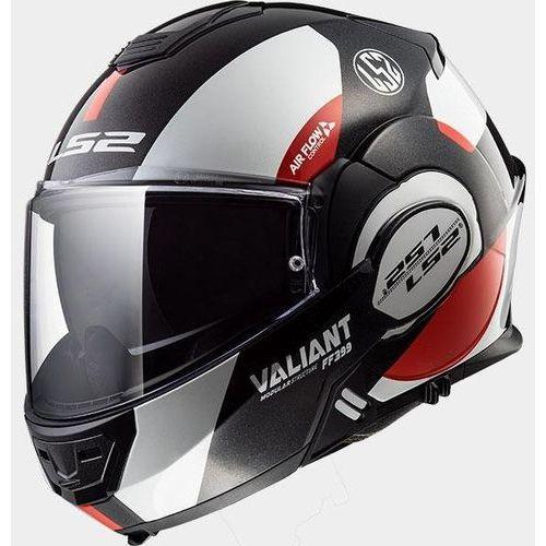 Kaski motocyklowe, KASK LS2 FF399 VALIANT AVANT WHI/BLK RED