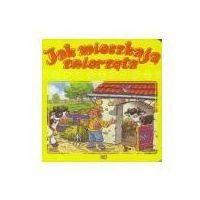 Książki dla dzieci, Jak mieszkają zwierzęta JAFI (opr. twarda)