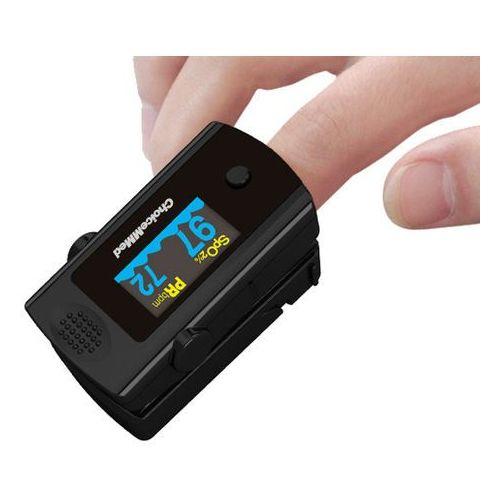 Pulsoksymetry, Pulsoksymetr na palec ChoiceMMed OxyWatch z sygnalizacją dźwiekową