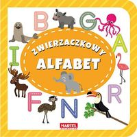 Książki dla dzieci, Zwierzaczkowy alfabet - Praca zbiorowa (opr. twarda)