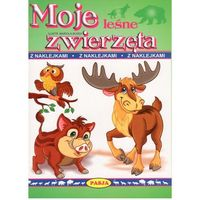 Książki dla dzieci, Moje leśne zwierzęta (opr. miękka)