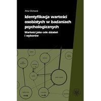 E-booki, Identyfikacja wartości osobistych w badaniach psychologicznych