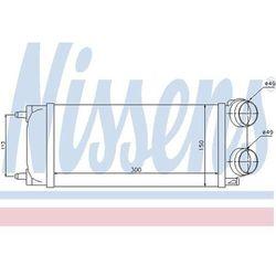 Chłodnica powietrza doładowującego - intercooler NISSENS 96718