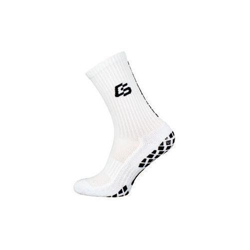 Piłka nożna, Control Socks skarpety antypoślizgowe White