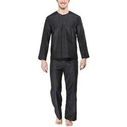 Traveler's Tree Travel Pyjama Bielizna nocna Mężczyźni Men czarny L Bielizna nocna