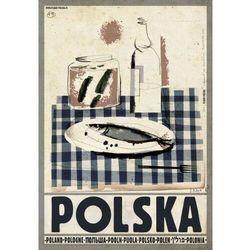 Plakat Polska wódka śledź - Ryszard Kaja
