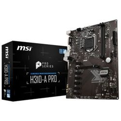 Płyta MSI H310-A PRO/H310/DDR4/SATA3/M.2/USB3.0/PCIe3.0/s.1151/ATX