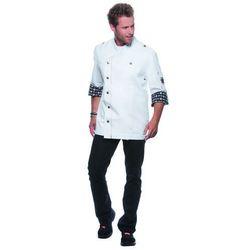 Bluza kucharska, rozmiar 62, biała | KARLOWSKY, Rock Chef