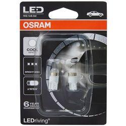 OSRAM (W5W)** Cool White 6000 K 12V 1W W2.1x9.5d Zamienniki LED -RETROFIT PREMIUM - 5 lat gwarancji **brak ECE