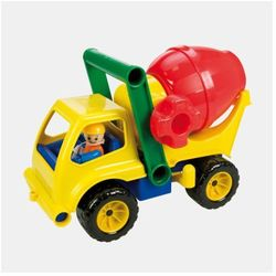 Kolorowa betoniarka, pojazd, 27 cm