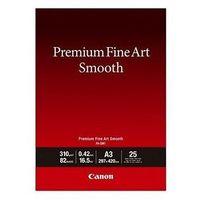 Papiery i folie do drukarek, Canon PAPIER FINE ART FA-SM1 A3 25