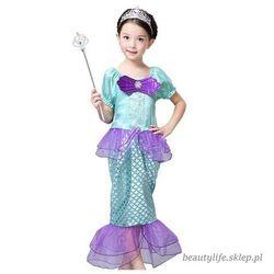 Strój Syrenka Sukienka dla dziecka 110-116cm