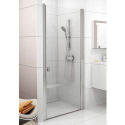 Ravak Chrome drzwi prysznicowe CSD1-90, wys. 195 cm, Satyna+Transparent 0QV70U00Z1
