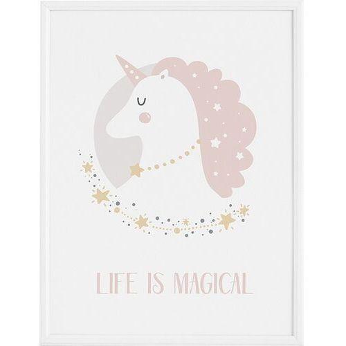 Plakaty, Plakat Lady Unicorn 70 x 100 cm