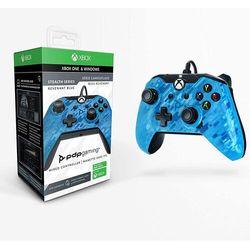 Kontroler Pad Przewodowy PDP Revenant Blue Xbox One - niebieski Camo // WYSYŁKA 24h // DOSTAWA TAKŻE W WEEKEND! // TEL. 696 299 850