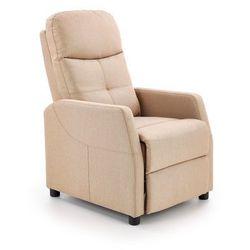 Fotel Felipe beżowy rozkładany kolor beżowy