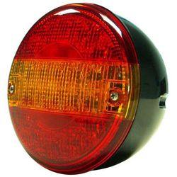 Tralert Lampa tylna zespolona LED, czerwono-pomarańczowa, okrągła Darmowa wysyłka i zwroty