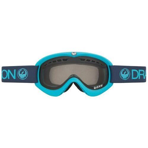 Kaski i gogle, gogle snowboardowe DRAGON - Dxs Ultramarine (Smoke) (614) rozmiar: OS