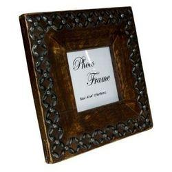 Drewniana ramka na zdjęcia 30882 - format zdjęcia 9cmx9cm.