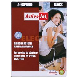 Kaseta barwiąca ActiveJet A-KXP1090 kolor czarny do drukarki igłowej Panasonic (zamiennik KX-P115)