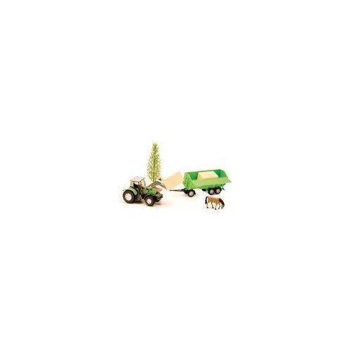 Traktory dla dzieci, Traktor zestaw Orchard Farm