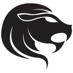 Naklejka Znak zodiaku - LEW, 50 kolorów do wyboru