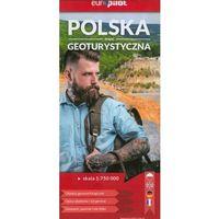 Mapy i atlasy turystyczne, Polska mapa geoturystyczna Europilot 1:750 000 (wyd. 2019) - Praca zbiorowa (opr. miękka)