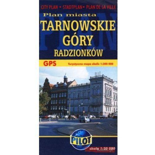 Mapy i atlasy turystyczne, Tarnowskie Góry, Radzionków mapa 1:20 000 Pilot (opr. broszurowa)