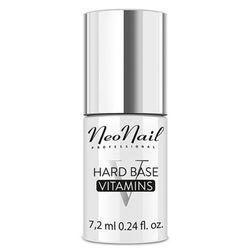 NeoNail HARD BASE VITAMINS Baza witaminowa do lakieru hybrydowego (7,2 ml)