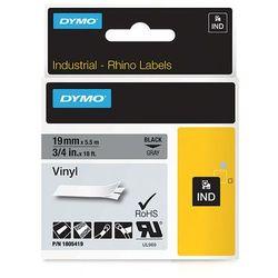 Dymo taśma do drukarek etykiet, 1805419, czarny druk/szary podkład, 5,5m, 19mm
