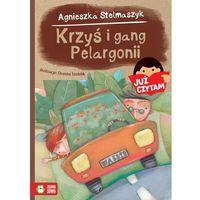 Książki dla dzieci, Krzyś i gang Pelargonii - Agnieszka Stelmaszyk (opr. miękka)