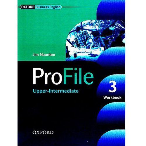 Książki do nauki języka, Profile 3 Upper-Intermediate Workbook (opr. miękka)