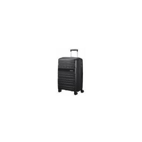 Torby i walizki, American Tourister Sunside średnia poszerzana walizka 67,5 cm / czarna - Black ZAPISZ SIĘ DO NASZEGO NEWSLETTERA, A OTRZYMASZ VOUCHER Z 15% ZNIŻKĄ