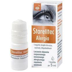 Starelltec Alergia krople do oczu 5ml